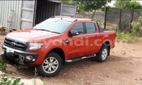 Buy Used Ford Ranger Red Car in Lusaka in Zambia
