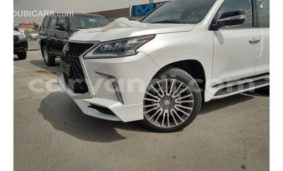 Buy Import Lexus LX White Car in Import - Dubai in Zambia
