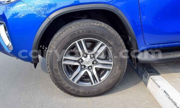 Buy Import Toyota Fortuner Blue Car in Import - Dubai in Zambia