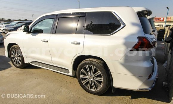 Buy Import Lexus LX White Car in Import - Dubai in Zambia