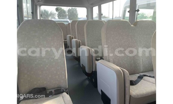 Buy Import Toyota Coaster White Car in Import - Dubai in Zambia
