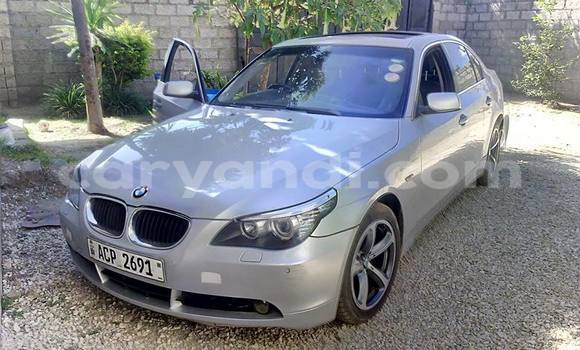 Buy Used BMW 5–Series Silver Car in Chingola in Zambia