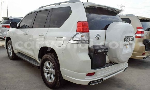 Buy Import Toyota Prado White Car in Import - Dubai in Zambia