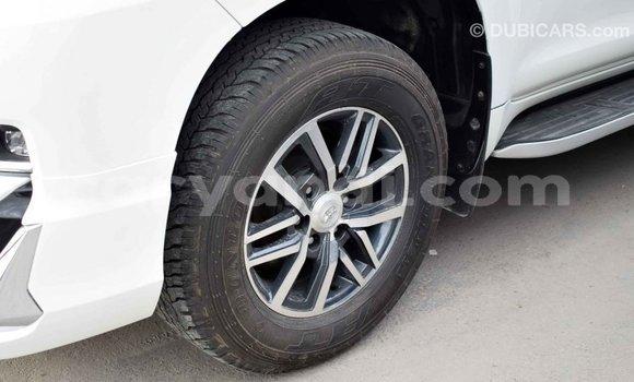 Buy Import Toyota Prado White Car in Import - Dubai in Zambia