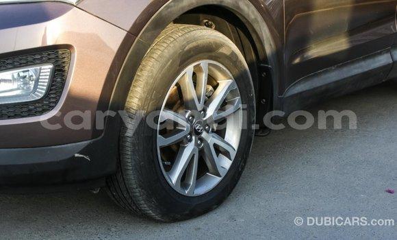 Buy Import Hyundai Santa Fe Brown Car in Import - Dubai in Zambia