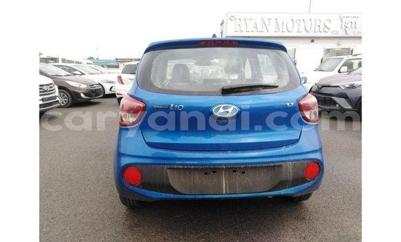 Buy Import Hyundai i10 Blue Car in Import - Dubai in Zambia