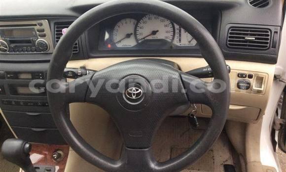 Buy Used Toyota 4Runner White Car in Chingola in Zambia