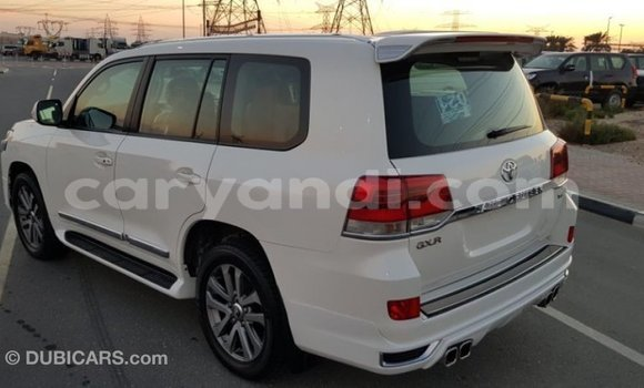 Buy Import Toyota Land Cruiser White Car in Import - Dubai in Zambia