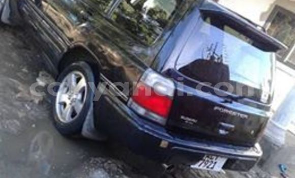Buy Used Subaru Forester Black Car in Lusaka in Zambia