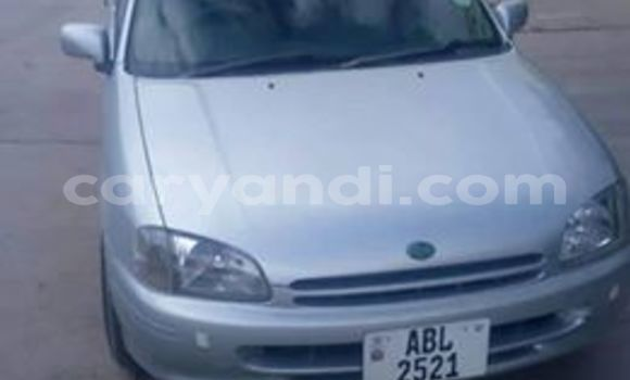 Buy Used Toyota Starlet Silver Car in Lusaka in Zambia