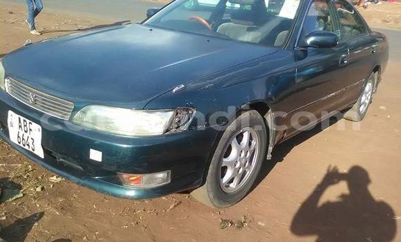 Buy Used Toyota Mark II Green Car in Lusaka in Zambia