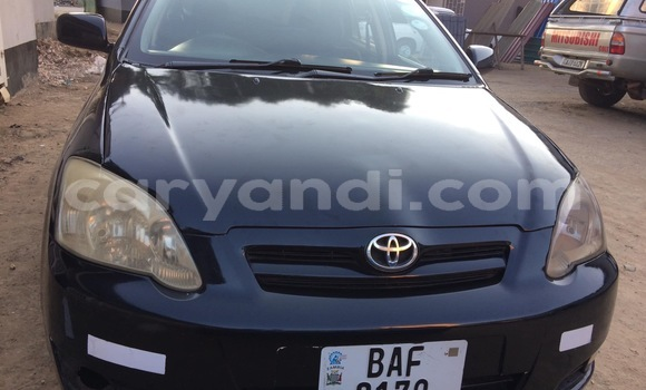 Buy Used Toyota Runx Black Car in Lusaka in Zambia