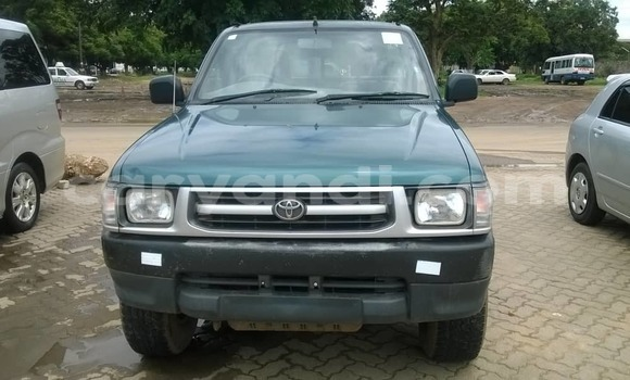 Buy Used Toyota Hilux Green Car in Lusaka in Zambia