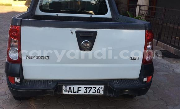 Buy Used Nissan Pickup White Car in Lusaka in Zambia
