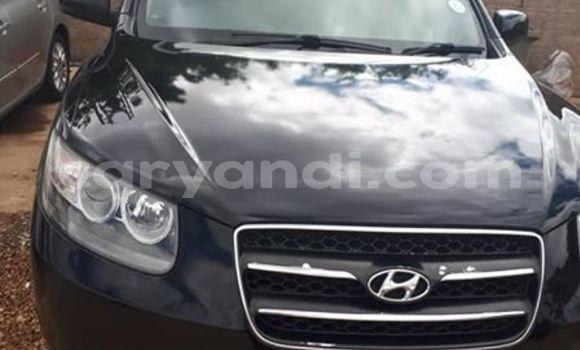 Buy Used Hyundai Santa Fe Black Car in Lusaka in Zambia