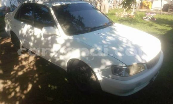 Buy Used Toyota Corolla White Car in Kitwe in Zambia