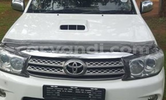 Buy Used Toyota Fortuner White Car in Lusaka in Zambia