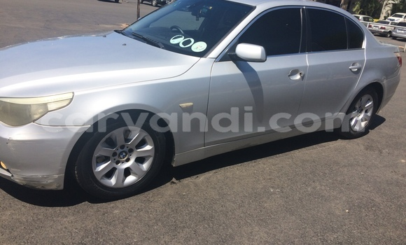 Buy Used BMW 5–Series Silver Car in Lusaka in Zambia