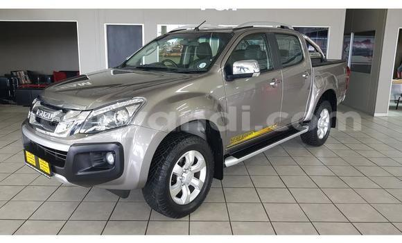 Buy Used Isuzu KB Brown Car in Lusaka in Zambia