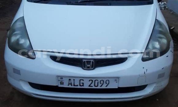 Buy Used Honda FIT White Car in Lusaka in Zambia