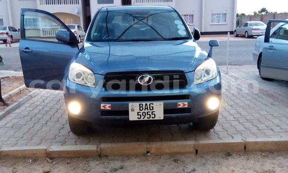 Buy Used Toyota RAV4 Blue Car in Lusaka in Zambia