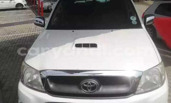Buy Used Toyota Hilux White Car in Livingstone in Zambia
