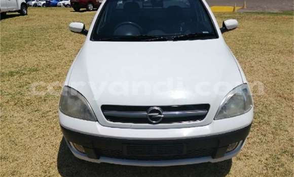 Buy Used Opel Corsa White Car in Livingstone in Zambia