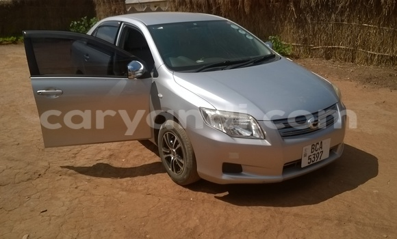 Buy Used Toyota Axio Silver Car in Ndola in Zambia