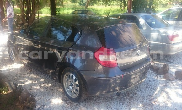 Buy Used BMW 1–Series Black Car in Chingola in Zambia
