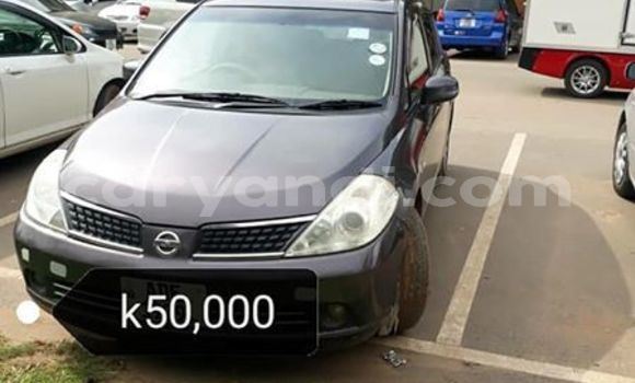 Buy Used Nissan Tiida Blue Car in Lusaka in Zambia