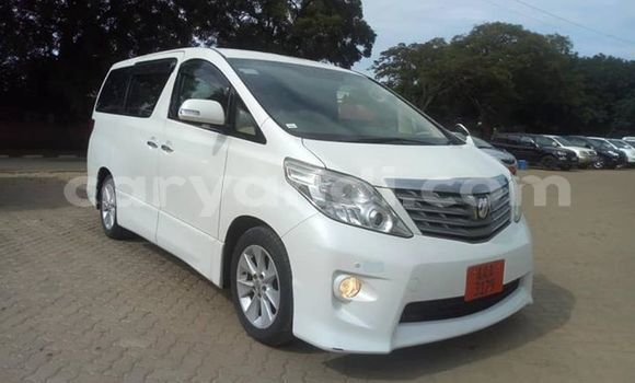 Buy Used Toyota Alphard White Car in Lusaka in Zambia