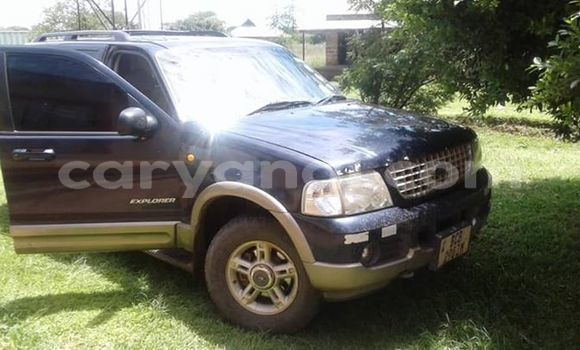 Buy Used Ford Explorer Blue Car in Lusaka in Zambia