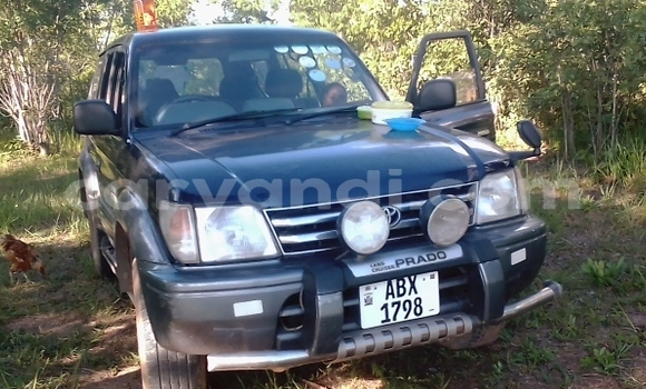 Buy Used Toyota Land Cruiser Prado Blue Car in Lusaka in Zambia