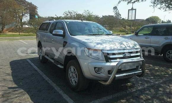 Buy Used Ford Ranger Silver Car in Lusaka in Zambia