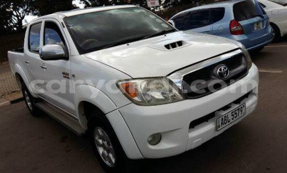 Buy Used Toyota 4Runner White Car in Chingola in Zambia