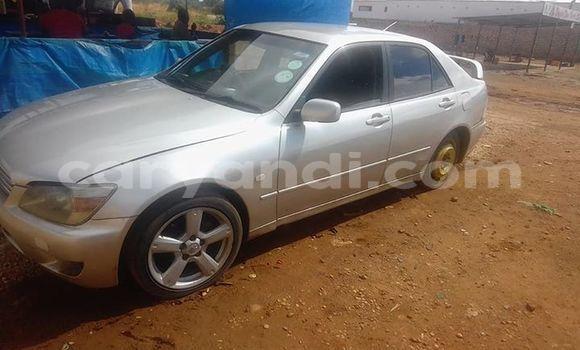 Buy Used Toyota Altezza Silver Car in Lusaka in Zambia
