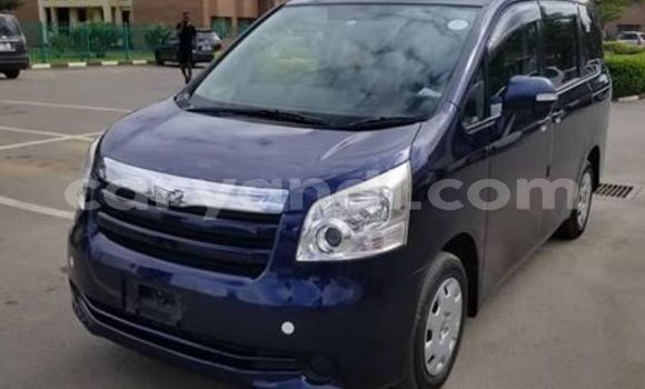 Buy Used Toyota Noah Blue Car in Lusaka in Zambia