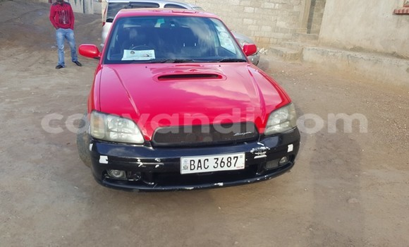 Buy Used Subaru Outback Red Car in Chingola in Zambia
