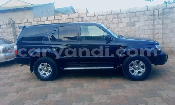 Buy Used Toyota Hilux Surf Black Car in Lusaka in Zambia