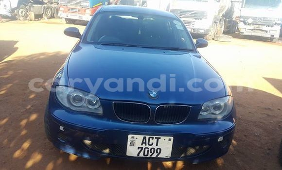 Buy Used BMW 1–Series Blue Car in Ndola in Zambia