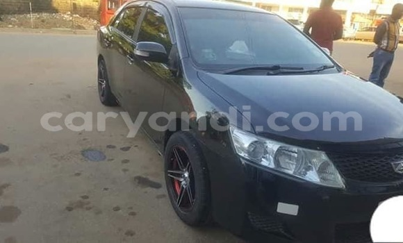 Buy Used Toyota Allion Black Car in Lusaka in Zambia