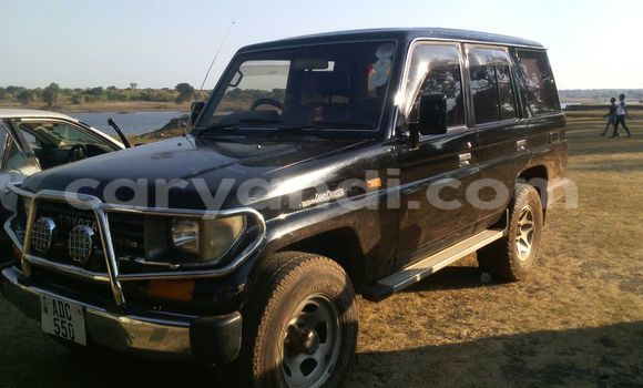 Buy Used Toyota Land Cruiser Prado Black Car in Kitwe in Zambia