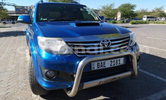 Buy Used Toyota Fortuner Blue Car in Lusaka in Zambia
