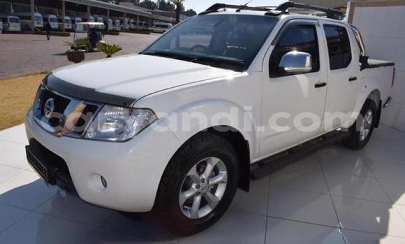 Buy Used Nissan Navara White Car in Lusaka in Zambia