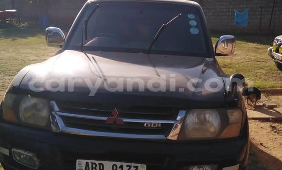 Buy Used Mitsubishi Pajero Black Car in Lusaka in Zambia