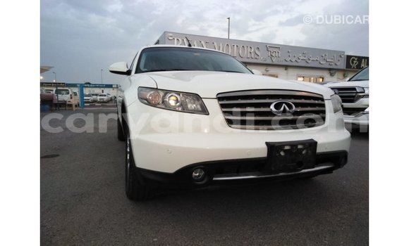 Buy Import Infiniti FX White Car in Import - Dubai in Zambia