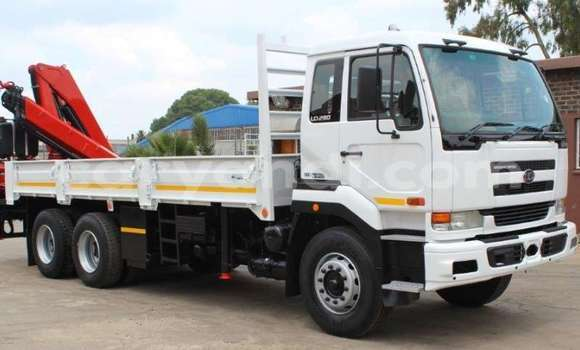Buy Used Nissan UD White Truck in Lusaka in Zambia
