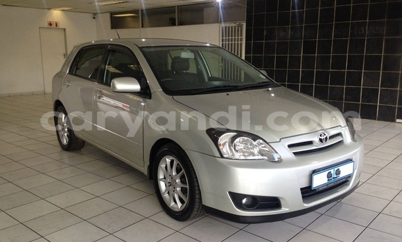 Buy Used Toyota Runx Silver Car in Choma in Southern
