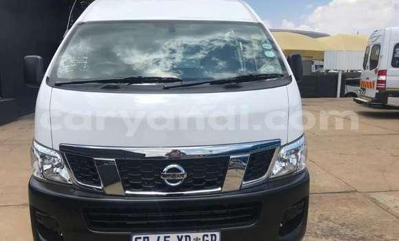 Buy Used Nissan NV350 Caravan White Car in Lusaka in Zambia