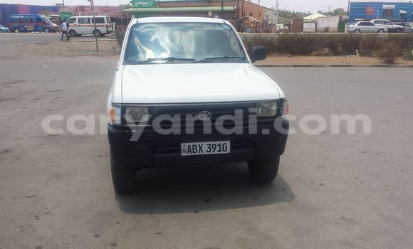Buy Used Toyota Hilux White Car in Chipata in Zambia